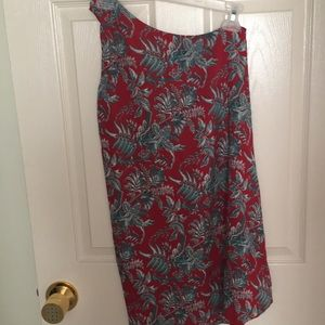 Off one shoulder dress